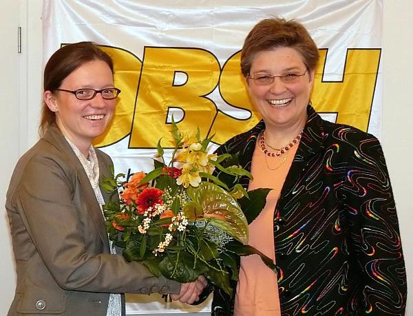 Doris Bose (links) und Gabriele Stark-Angermeier (rechts)