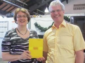 Bürgermeisterin Christine Strobl und Dr. Winfried Leisgang